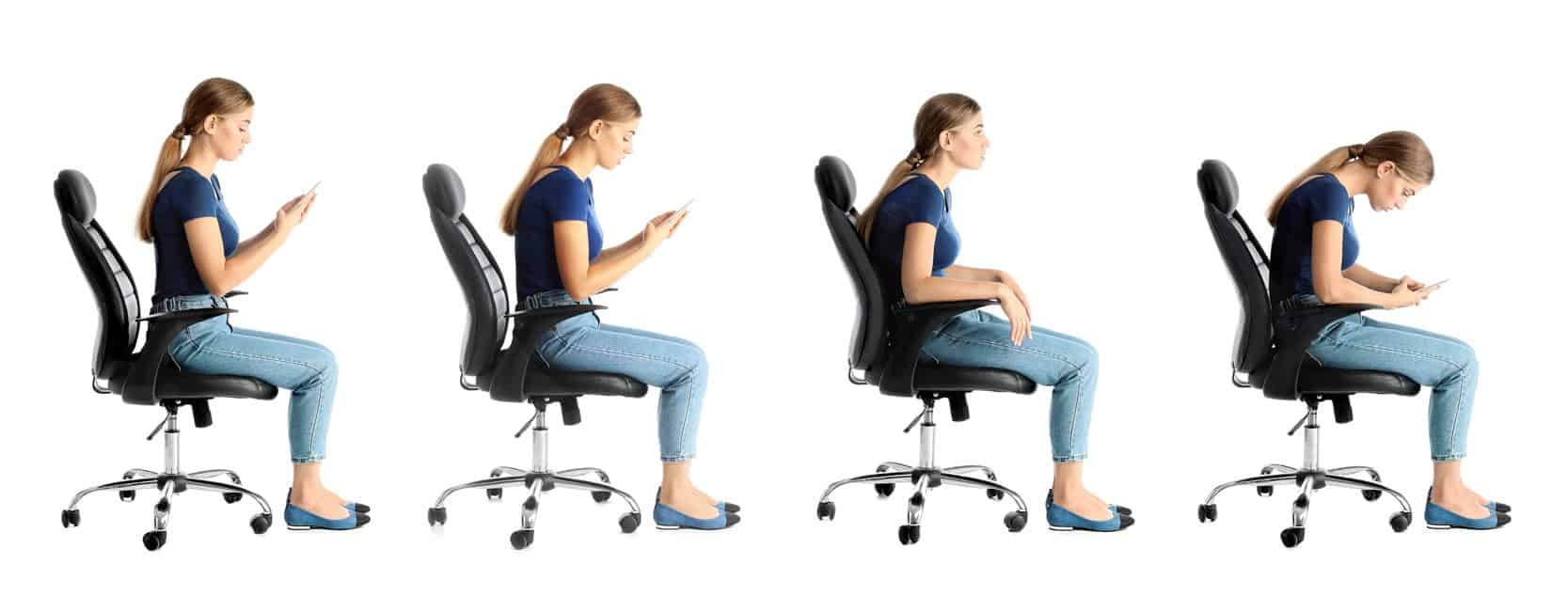 Diagram-of-how-poor-seating-posture-can-cause-neck-and-shoulder-pain-that-a-Physio-needs-to-treat-a-female